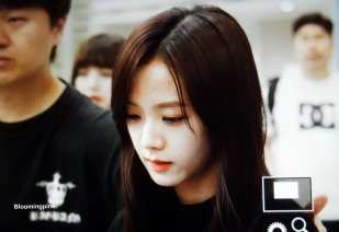 Blackpink Jisoo Airport Fashion Incheon 5 april 2018 from Thailand 11