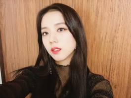 Blackpink Jisoo Selfie Instagram photo 2018