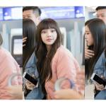 Hq Pics Blackpink Lisa Chic Airport Look On March 25 2018