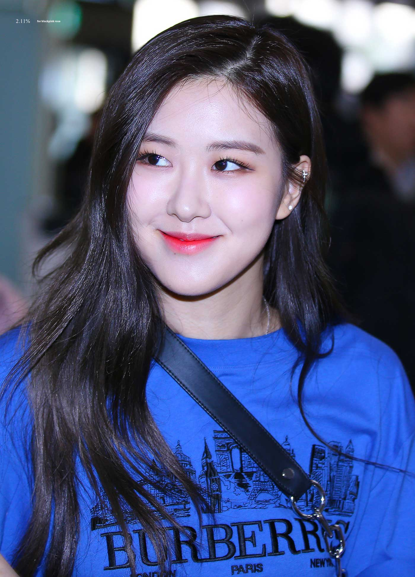 Blackpink Rose Airport Fashion 27 March 2018