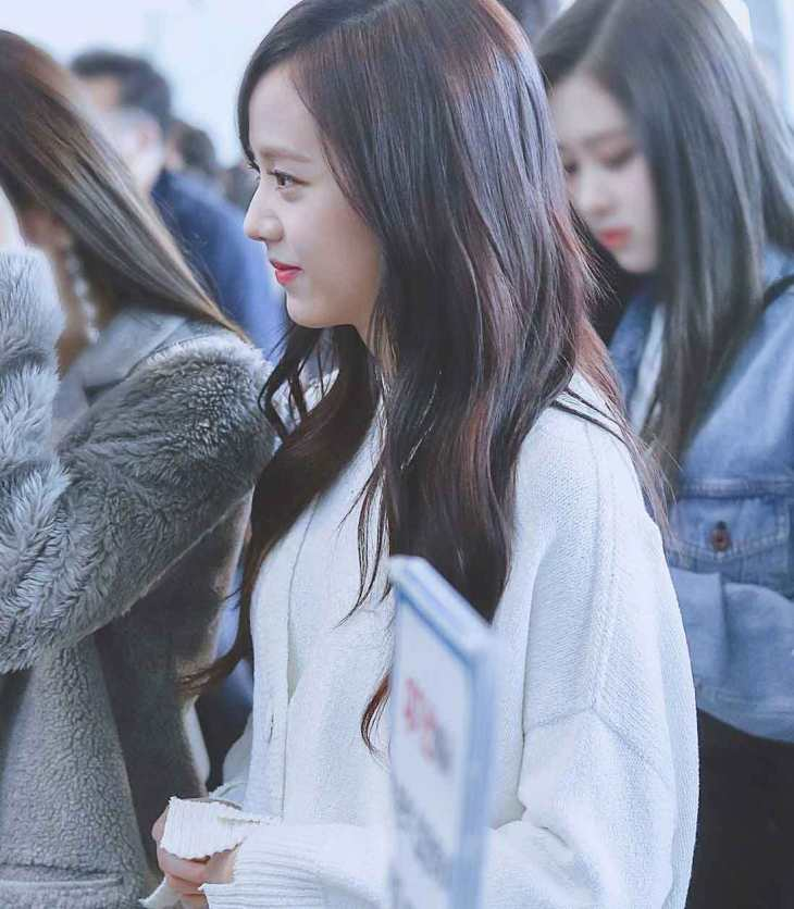 Blackpink Jisoo Airport Fashion White Outfit Jeju Island 25 march 2018
