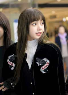 Blackpink Lisa Airport Fashion 26 March 2018