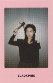 Blackpink Jisoo Light Stick Photo Cards pink version