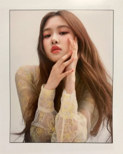 Blackpink Rose Instagram Photo Ceci Magazine Photoshoot