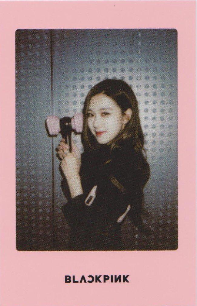 Blackpink Rose Light Stick Photo Cards pink version