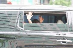 BLACKPINK Jennie Car Photos Leaving Inkigayo 17 June 2018 photo 15