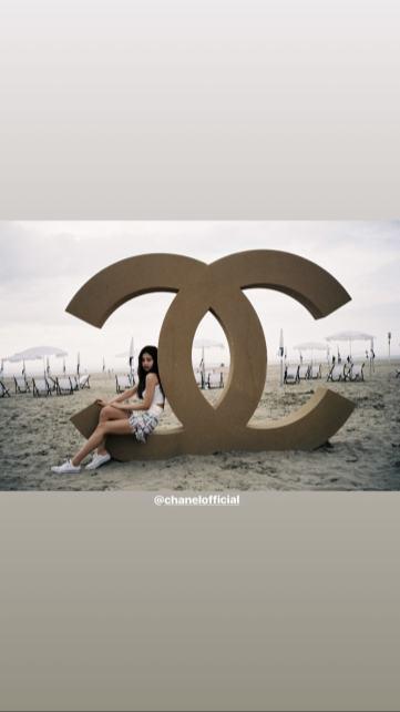 BLACKPINK Jennie Instagram Story 26 June 2018 chanel photo 3