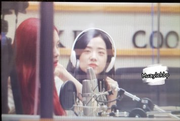 BLACKPINK Jisoo Rose KBS Cool FM Volume Up Photo 2