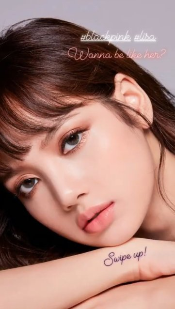 Blackpink Lisa moonshot style korean instagram 2