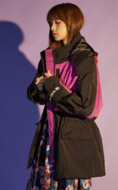 BLACKPINK Lisa NONAGON - FW 2018 MODXXXXXX lookbook photo 16