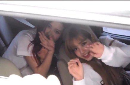 BLACKPINK Rose Car Photos Leaving Inkigayo 17 June 2018 photo 7