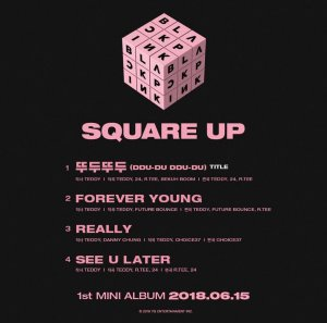 BLACKPINK SQUARE UP MINI ALBUM FULL TRACKLIST