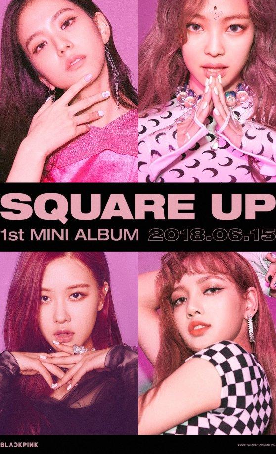Blackpink Teaser Poster Square Up Ddu du ddu du new