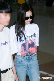 BLACKPINK Jennie Airport Photo 26 July 2018 Gimpo 4