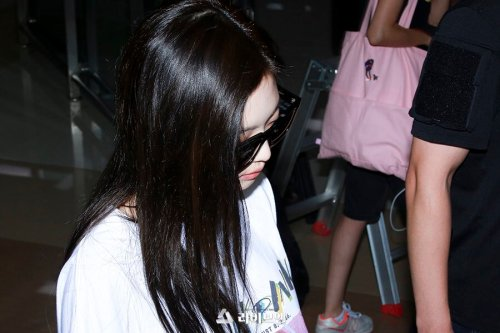 BLACKPINK Jennie Airport Photo 26 July 2018 Gimpo 6