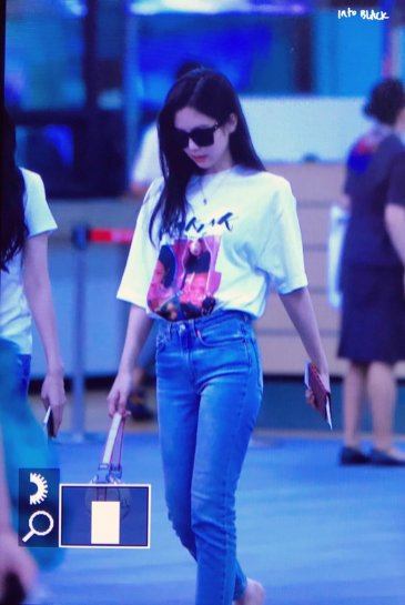 BLACKPINK Jennie Airport Photo 26 July 2018 Gimpo 9