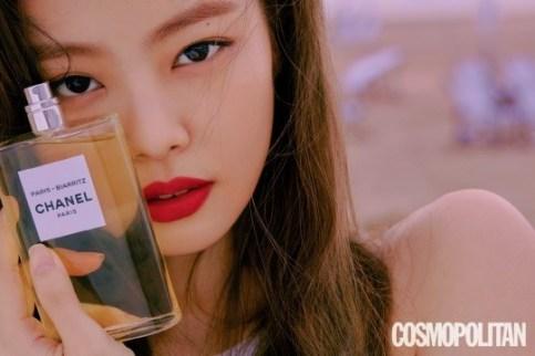 BLACKPINK Jennie Cosmopolitan Korea magazine July 2018 issue photo