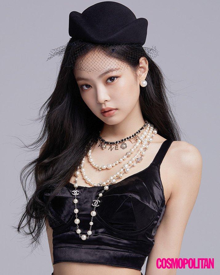 BLACKPINK Jennie Cosmopolitan Korea magazine cover august 2018 issue 2