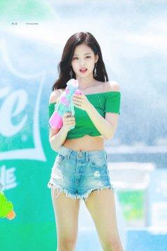 BLACKPINK Jennie Sprite Waterbomb Festival Seoul 114
