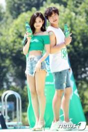 BLACKPINK Jennie Sprite Waterbomb Festival Seoul 5