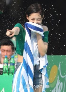 BLACKPINK Jennie Sprite Waterbomb Festival Seoul 58