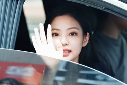 BLACKPINK Jennie leaving Inkigayo 15 July 2018 Car photos