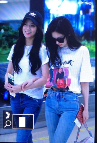 BLACKPINK Jisoo Jennie Airport Photo 26 July 2018 Gimpo 9