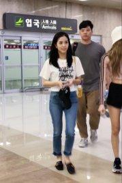 BLACKPINK Jisoo airport fashion 4 july 2018 photo 2