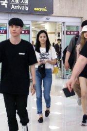BLACKPINK Jisoo airport fashion 4 july 2018 photo