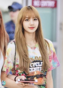 BLACKPINK Lisa Airport Photo 26 July 2018 Gimpo 5