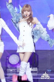 BLACKPINK Lisa MBC Music Core white outfit 30 June 2018 photo 2