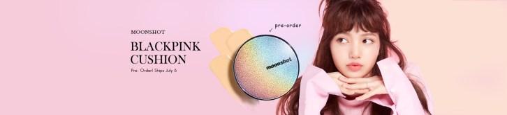 BLACKPINK Lisa Moonshot preorder banner