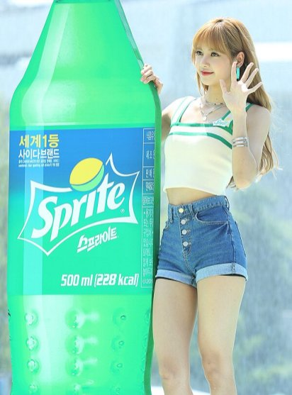 BLACKPINK Lisa Sprite Waterbomb Festival Seoul 61