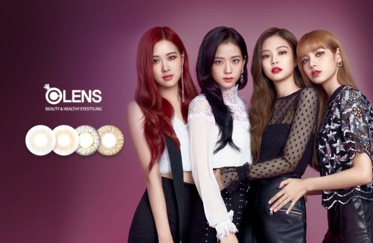 BLACKPINK OLENS Commercial Photo