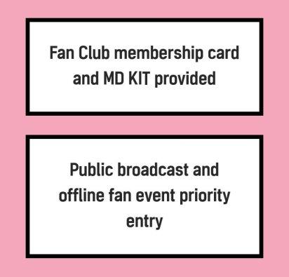 BLACKPINK Official BLINK Korean Fan Club Membership Benefit 2