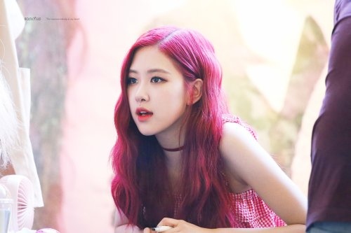 BLACKPINK Rose Fansign event Yeouido July 8, 2018 IFC Atrium 5