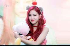 BLACKPINK Rose Fansign event Yeouido July 8, 2018 IFC Atrium