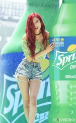 BLACKPINK-Rose-Sprite-Waterbomb-Festival-Seoul-1-