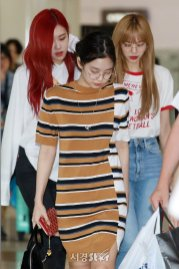 BLACKPINK UPDATE Jennie Airport Photo 20 July 2018 Back From Japan 17