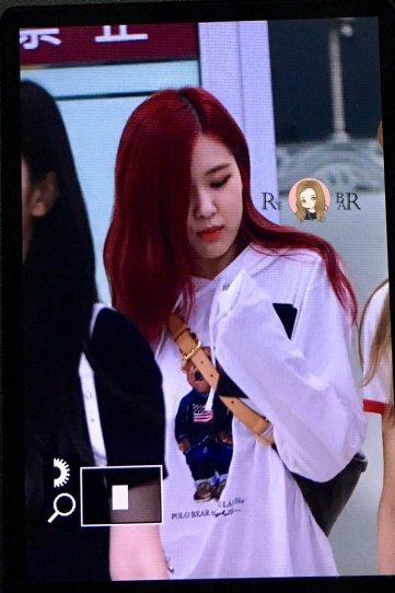 BLACKPINK UPDATE Rose Airport Photo 20 July 2018 Back From Japan 15