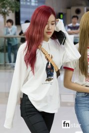 BLACKPINK UPDATE Rose Airport Photo 20 July 2018 Back From Japan 6