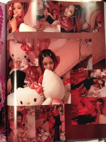 BLACKPINK UPDATE Scan Magazine BLACKPINK Vogue Korea August 2018 Issue 12