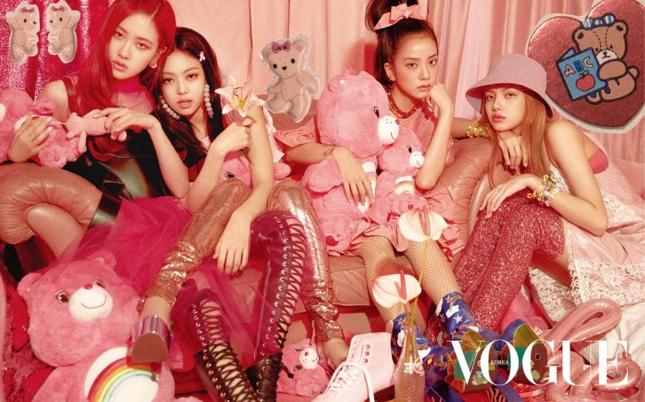 HQ BLACKPINK Vogue Korea Magazine Photoshoot