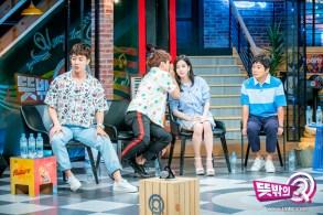 blackpink jisoo mbc unexpected q behind the scenes 12