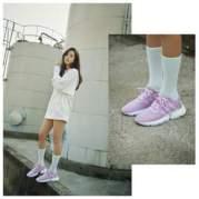 BLACKPINK Jisoo Adidas POD S31 purple