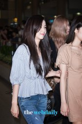 BLACKPINK Jisoo Airport Photo 18 August 2018 Incheon 10