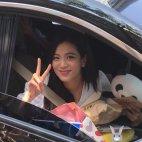 BLACKPINK Jisoo Car Photos Inkigayo 5 August 2018 good bye stage