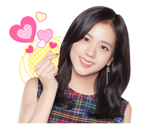 BLACKPINK Jisoo LINE Sticker 2018 Photo 3