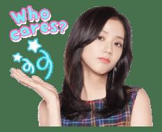 BLACKPINK Jisoo LINE Sticker 2018 Photo 8