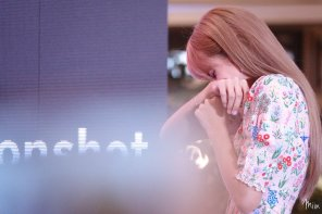 BLACKPINK LISA moonshot central world fansign event bangkok thailand 152